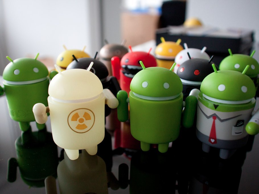 Android OSのイメージ