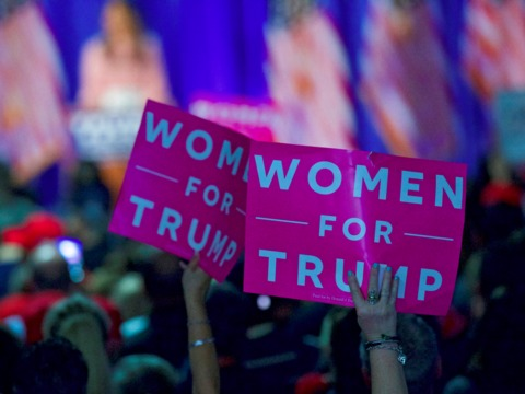 トランプ大統領のTwitterフォロワー、女性は20%以下