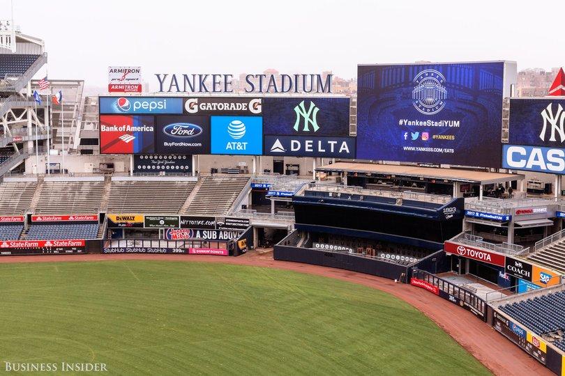 ニューヨーク・ヤンキースのスタジアム