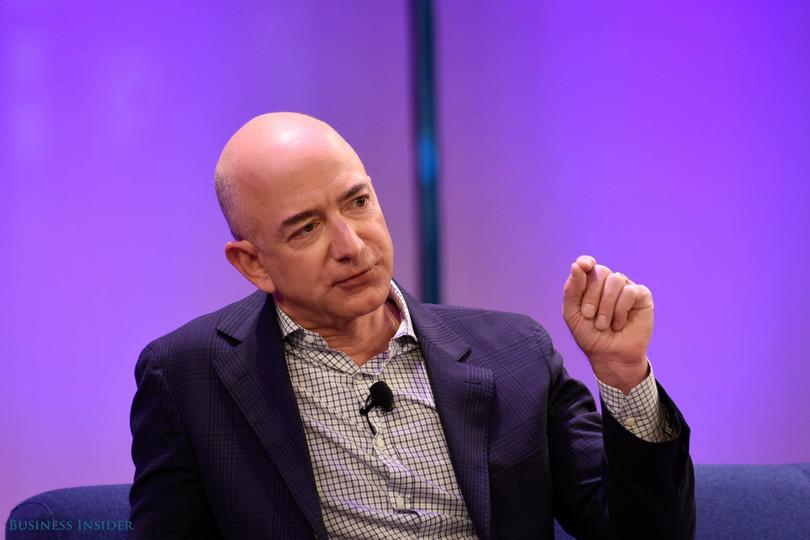 アマゾンCEOのジェフ・べゾス氏