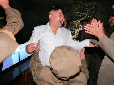 北朝鮮指導者の金正恩氏