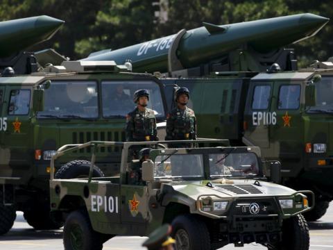 中国人民軍が北朝鮮国境付近に展開か、Twitter動画が拡散