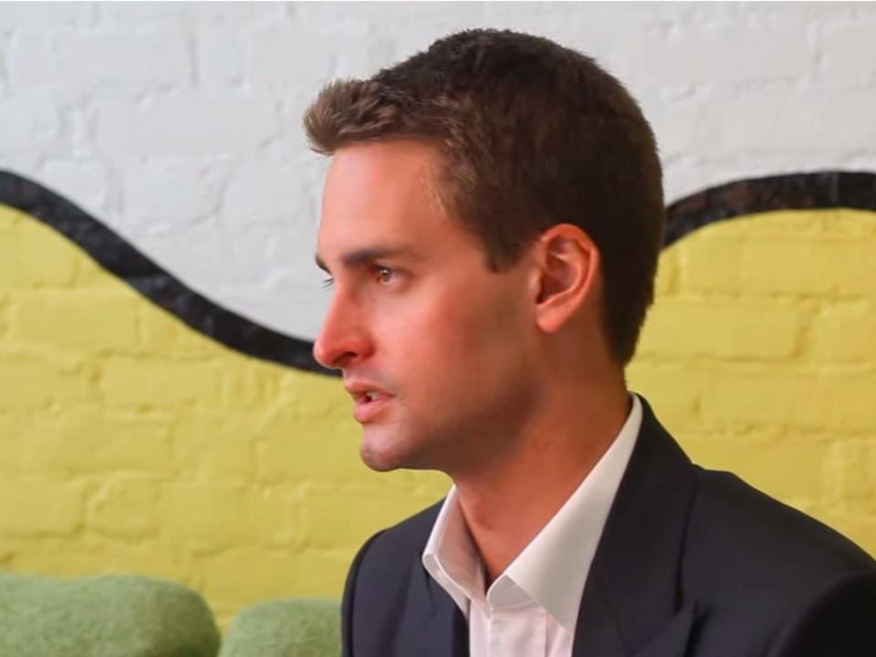 Snap Inc. CEO Evan Spiegel.
