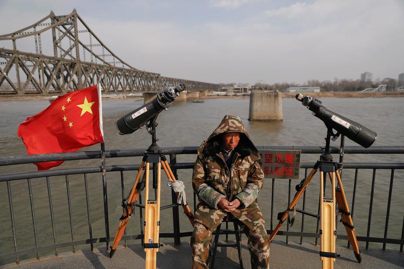 鴨緑江大橋