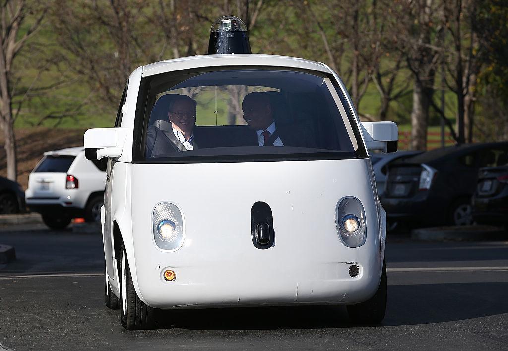 ウェイモの自動運転車