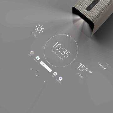 壁や机が「巨大タブレット」になる —— ソニーの「Xperia Touch」が目指すスマホ後の世界