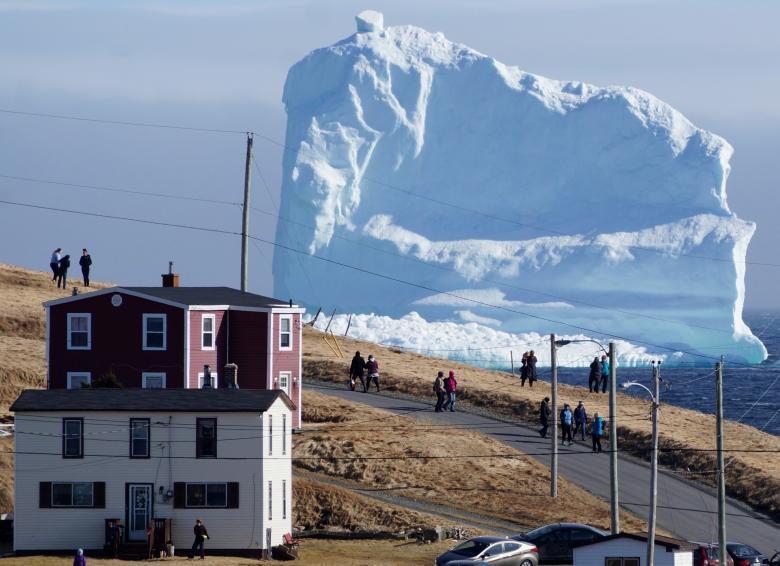 でかい氷山