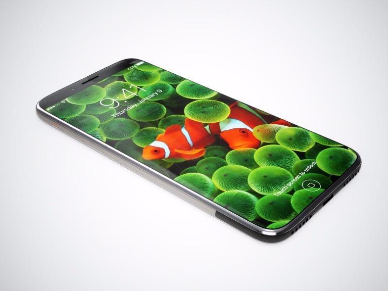 予想されているiPhone 8のイメージ