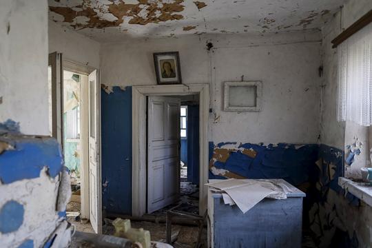 チェルノブイリ原発事故から31年 —— かつては町だった廃墟を歩く