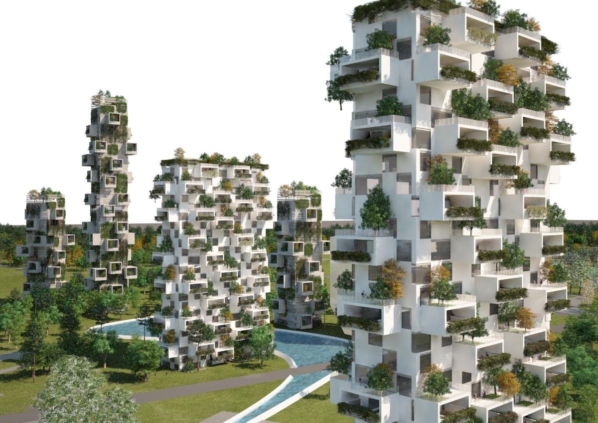 森林都市のイメージ図