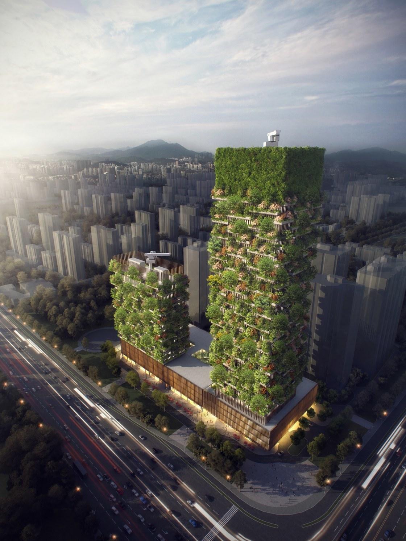 南京の森林タワー