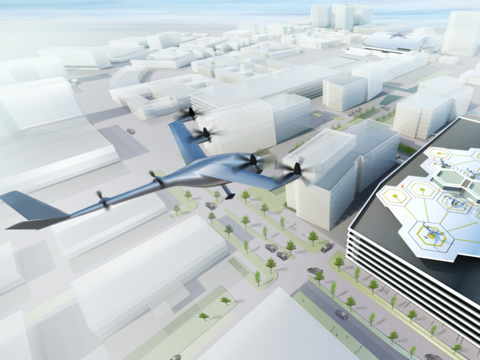 Uber、2020年に「空飛ぶタクシー」を公開デモンストレーション