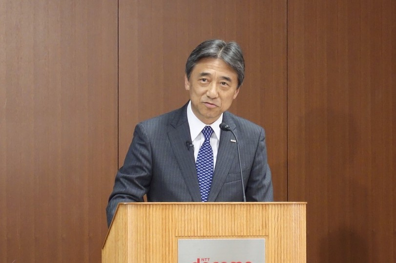 NTTドコモ・吉澤和弘社長
