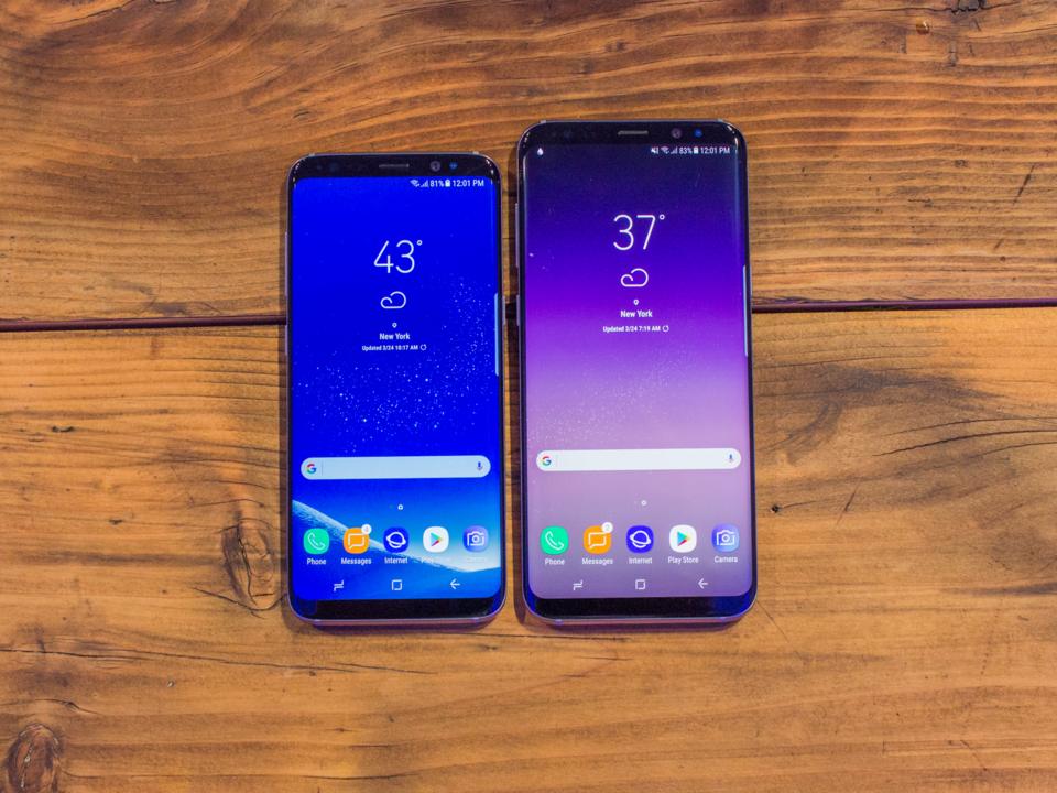S8とiPhone 7を比較