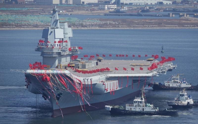 中国の初の国産空母