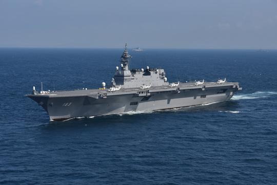 「いずも」南シナ海活動を警戒する中国 尖閣強硬策で対抗する可能性も