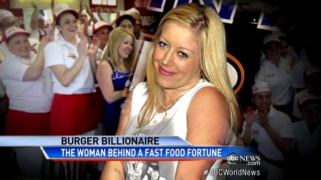 アメリカで大人気のファストフードチェーン、社長は35歳女性ビリオネア