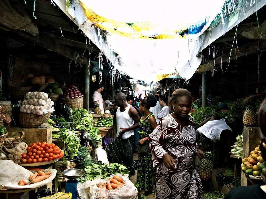 アフリカの食料市場