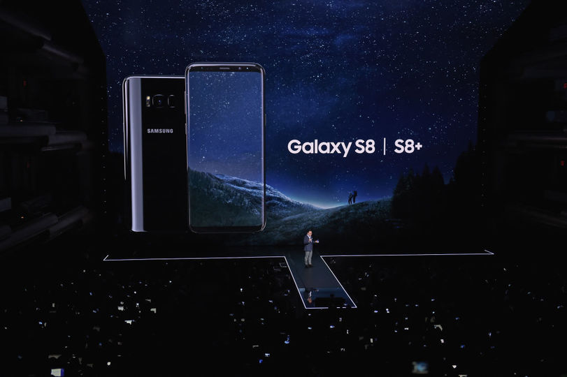 S8の発表イベント風景