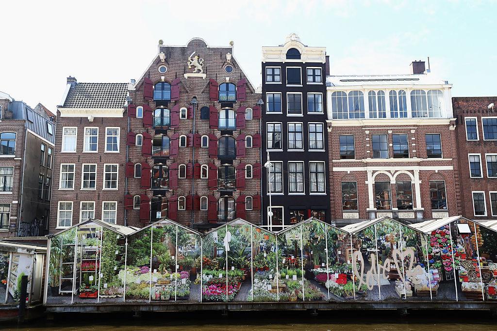 アムステルダムの建物