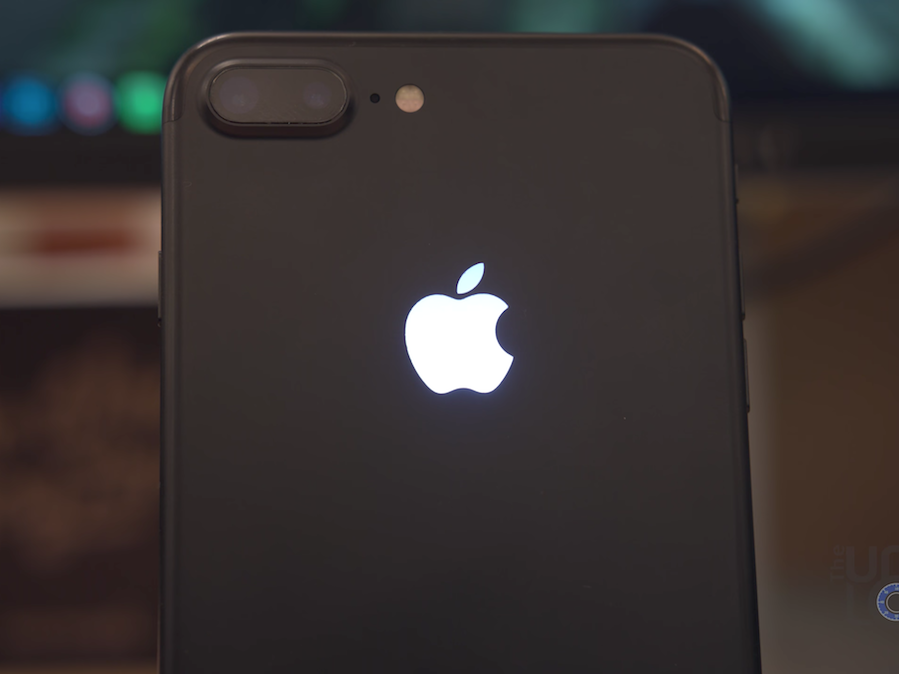 iPhoneを光らす自作キット