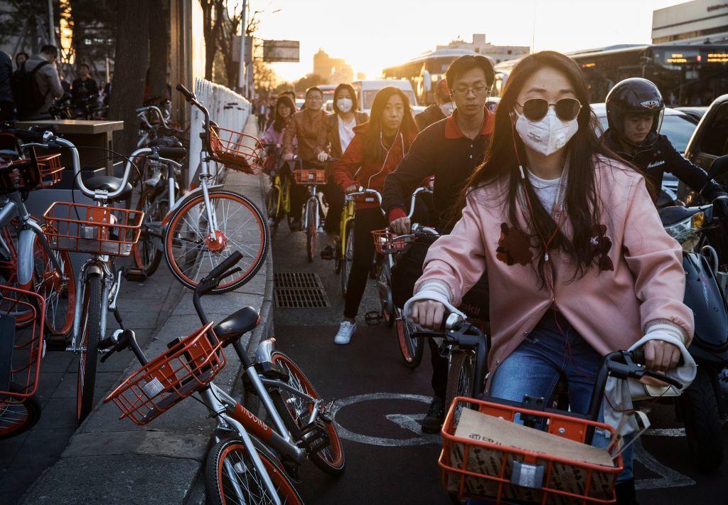 中国で人気を集めるシェア自転車