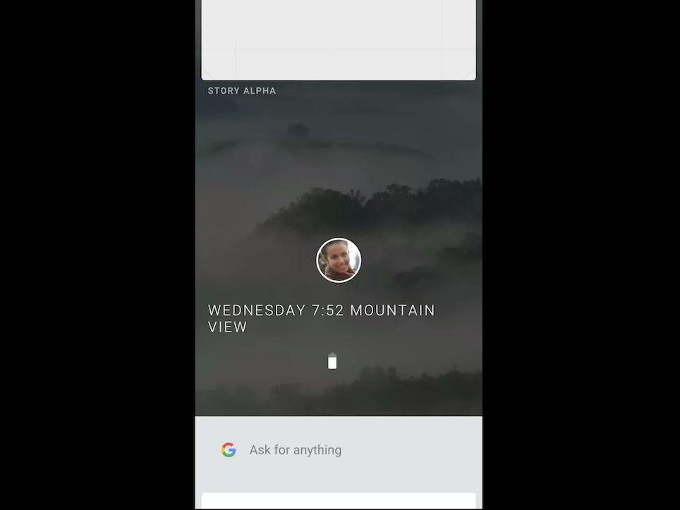 Fuchsiaの動作画面