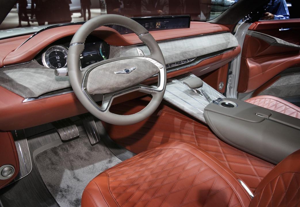 GV80(運転席)