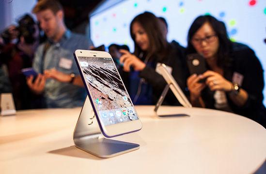 グーグルの新しいスマートフォン