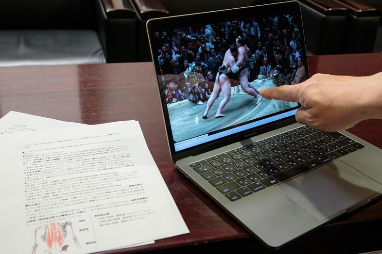 「スポーツバイオメカニクス」で横綱・稀勢の里の強さを分析