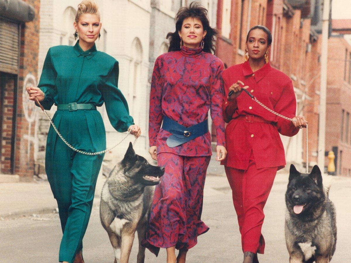 80年代のファッショントレンド