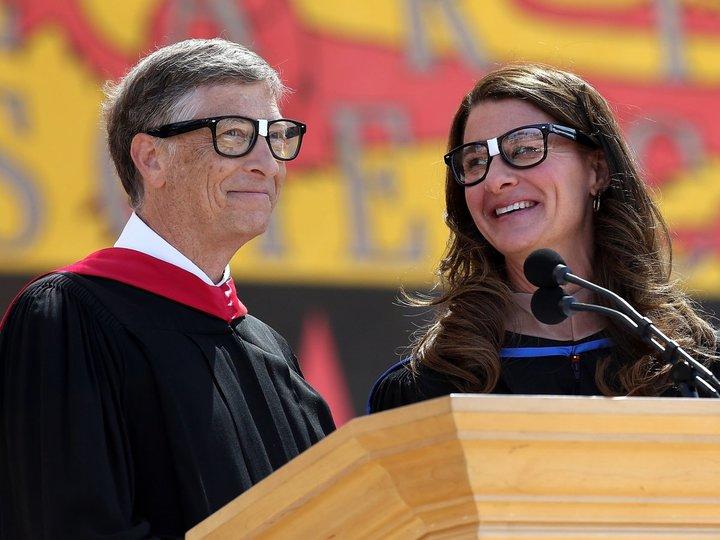ビル・ゲイツとメリンダ・ゲイツ夫妻