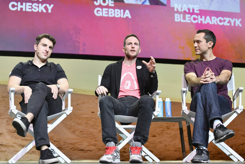 Airbnb創業者の3人