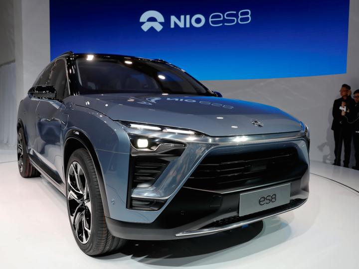 Nioが開発する中国市場向け電気SUV「ES8」