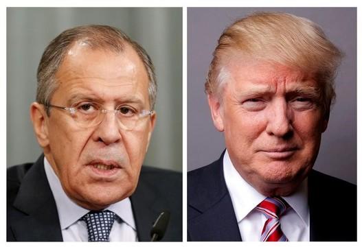 トランプ大統領がロシアの外相に機密事項を漏らす