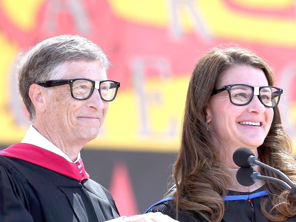 ビル・ゲイツとメリンダ・ゲイツ