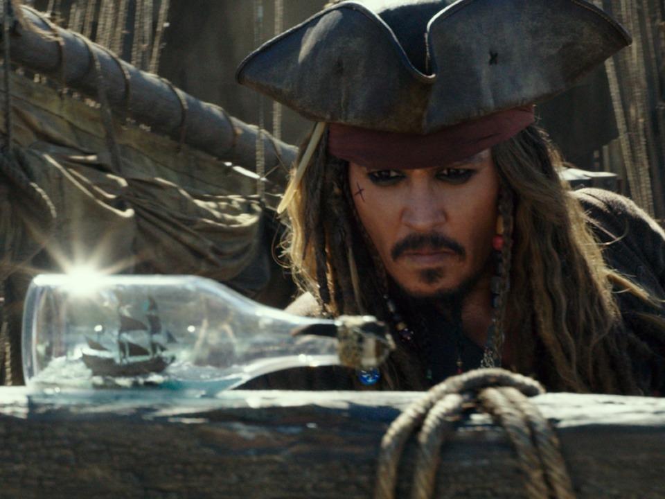 ジョニー・デップが演じる人気キャラクター、ジャック・スパロウ