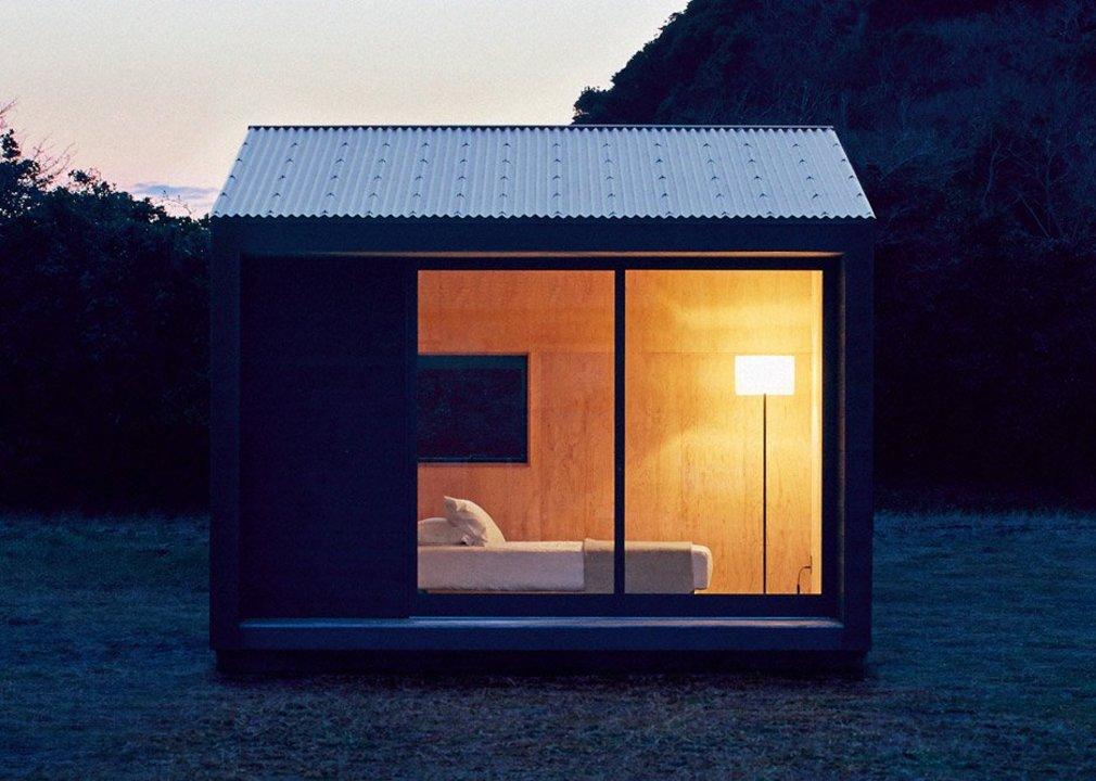 「無印良品の小屋」正面
