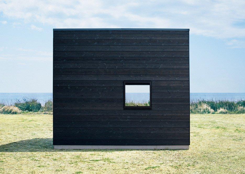 「無印良品の小屋」背面