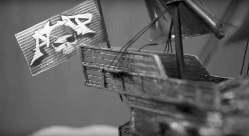 海賊と呼ばれた頃のATAPの紹介動画のスクリーンショット
