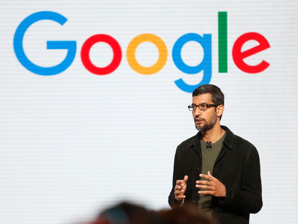 サンダー・ピチャイ氏、Google CEO