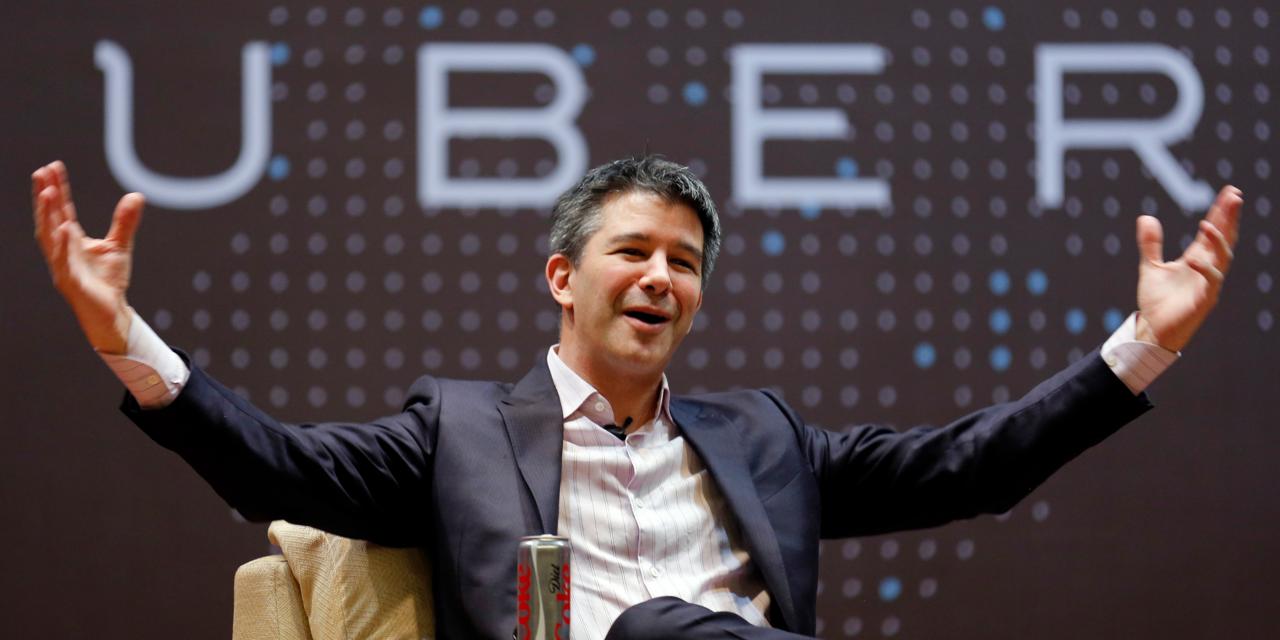 Uber CEOトラビス・カラニック氏