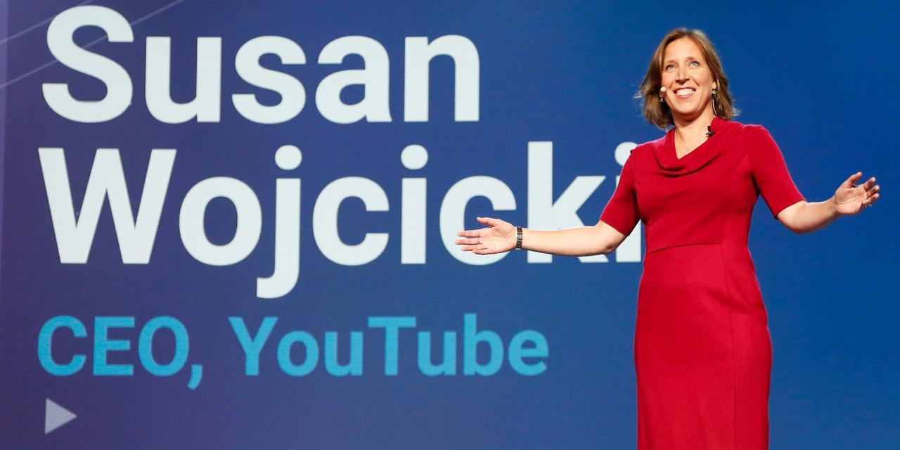 YouTube CEOスーザン・ウォシッキー氏