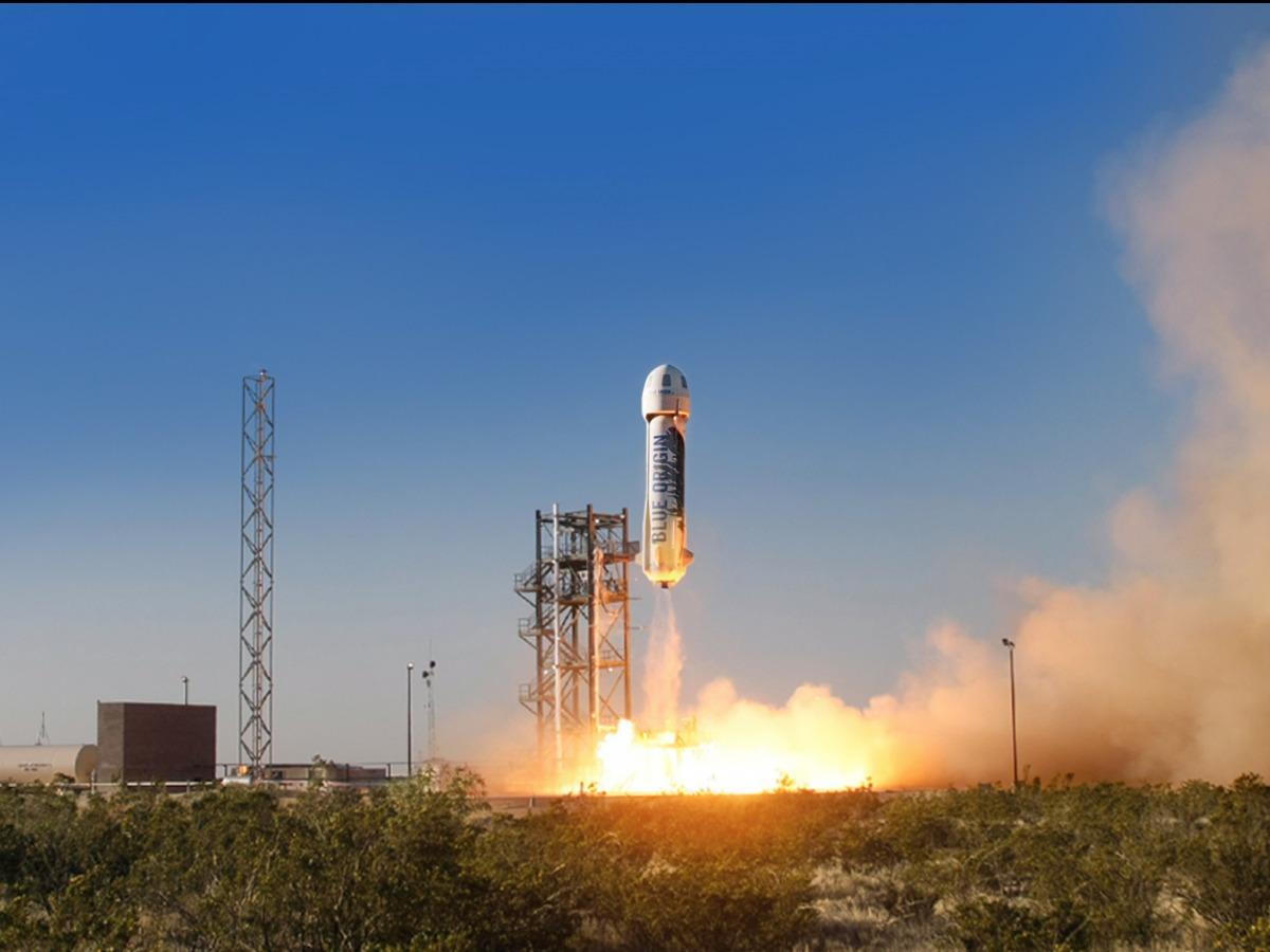 航空宇宙会社 ブルーオリジンのロケット