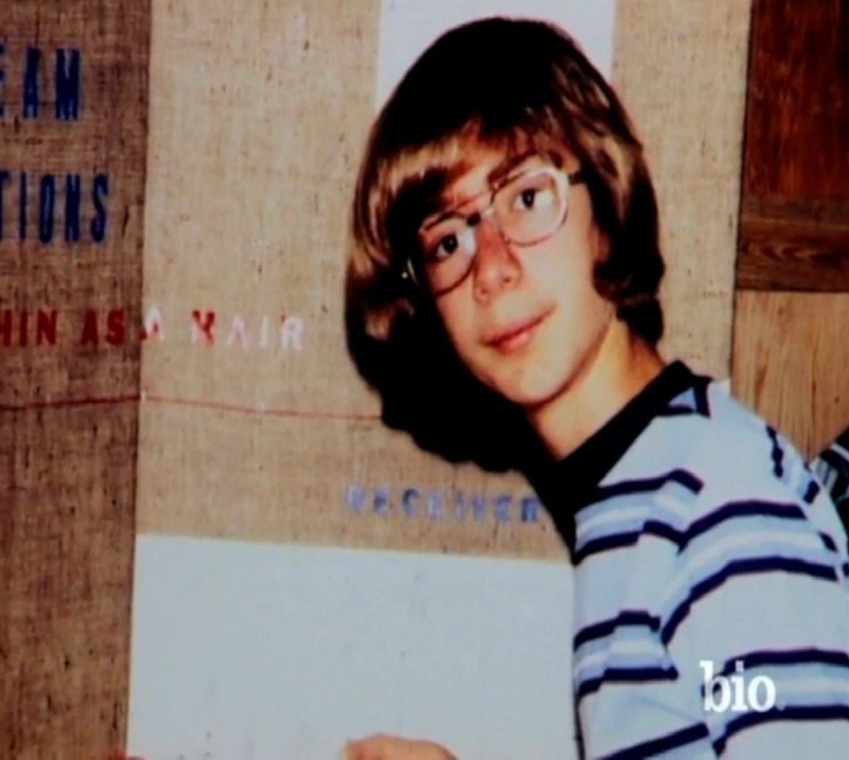 10歳の頃のジェフ・ベゾス氏