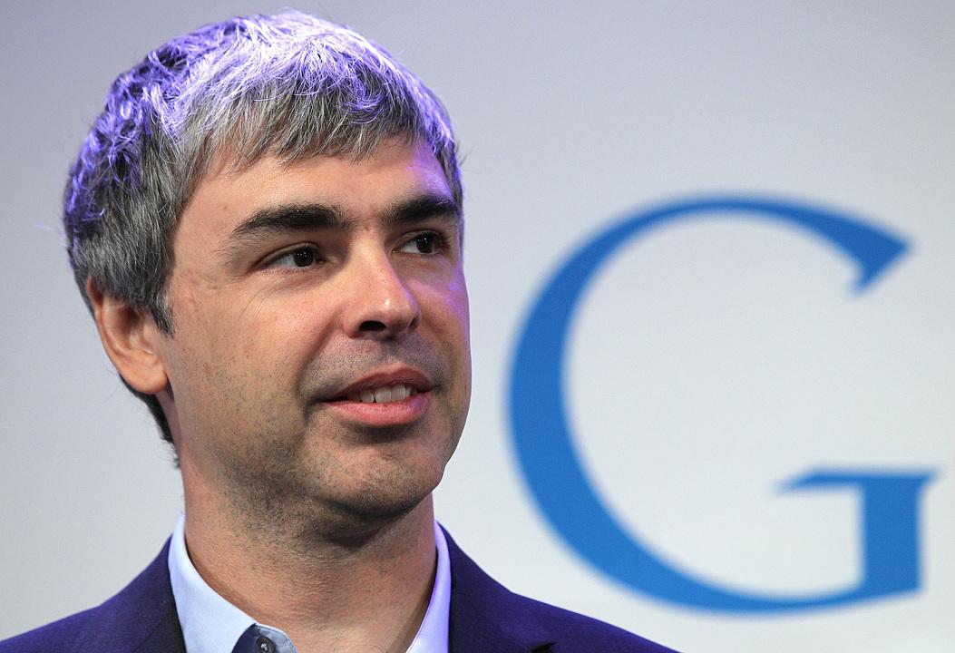 ミシガン大学卒業、ラリー・ペイジ(Larry Page)氏