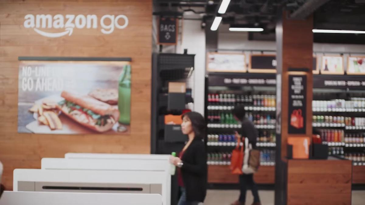 Amazon GO店内の様子