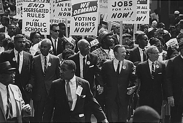 1963年のワシントン大行進