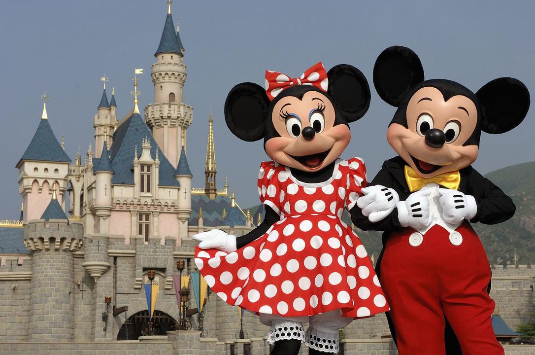 ディズニーのミッキーマウス