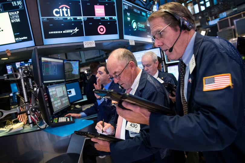 ニューヨーク株式市場の様子
